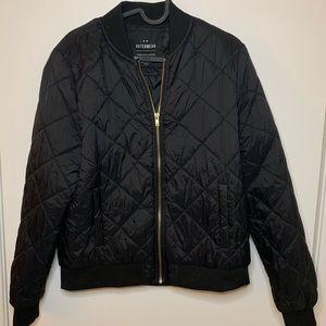 🧢Cotton On Black Shell Jacket
